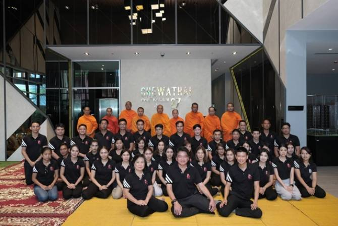 CHEWA ทำบุญ โครงการ ชีวาทัย เพชรเกษม 27