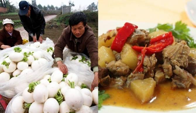 ร่วมด้วยช่วยกัน!ม.จีนซื้อหัวไชเท้าเกษตรกรที่เสียหายจากไต้ฝุ่น
