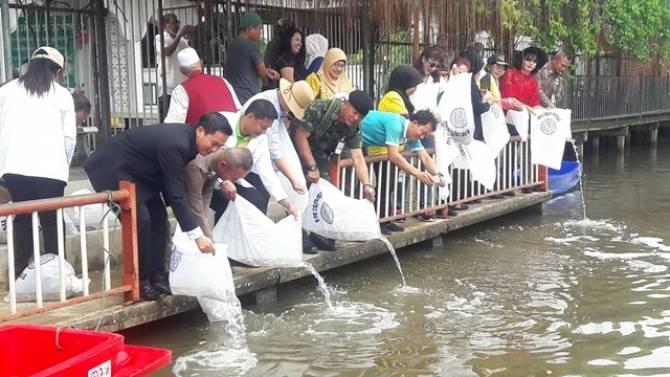 มีนบุรีร่วมอนุรักษ์คูคลอง ณ มัสยิดกมาลุลอิสลาม เขตคลองสามวา