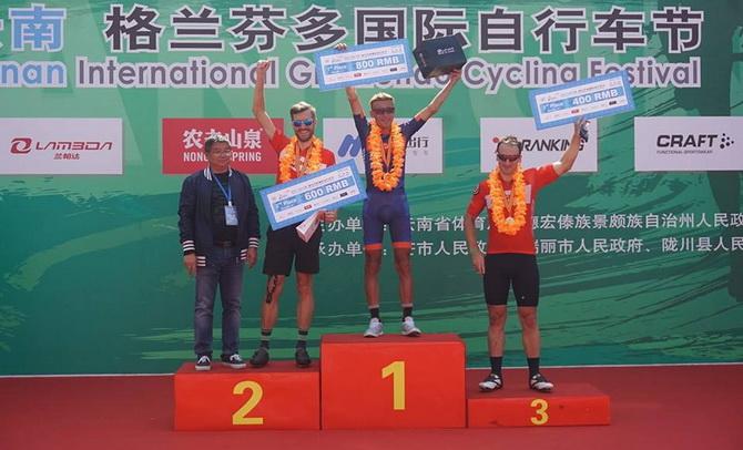 ทีมจักรยานรู้ใจดอทคอมเจ๋ง คว้าที่ 1 แข่งปั่นสองล้อที่จีน