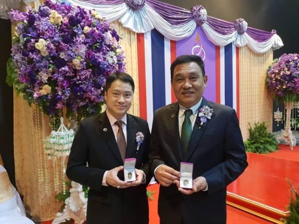 เฮอร์บาไลฟ์ นิวทริชั่น ประเทศไทย เข้ารับประทานเข็มเชิดชูเกียรติ