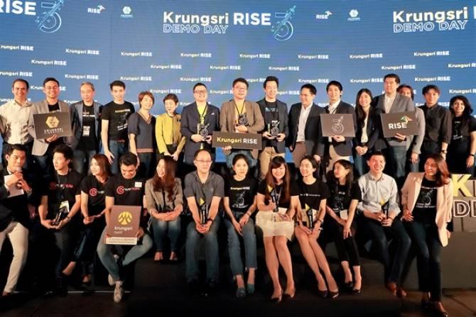 Choco CRM รับรางวัลRising Star  ในงานKrungsri RISE batch 3