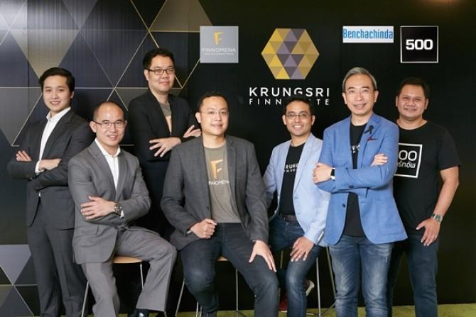 'กรุงศรี ฟินโนเวต'  ร่วมลงทุนฟินเทคสตาร์ทอัพไทยแท้