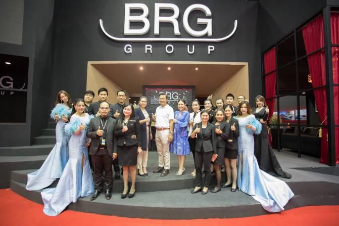 BRG Group ฉลองความสำเร็จใน Motor Expo2017